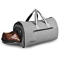 Puersit Suit Travel & Sports Large Duffel Bag with Shoe Bag (Grey)