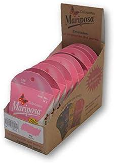 Mariposa Cristales Rosa 616 Colectiva con 10 piezas