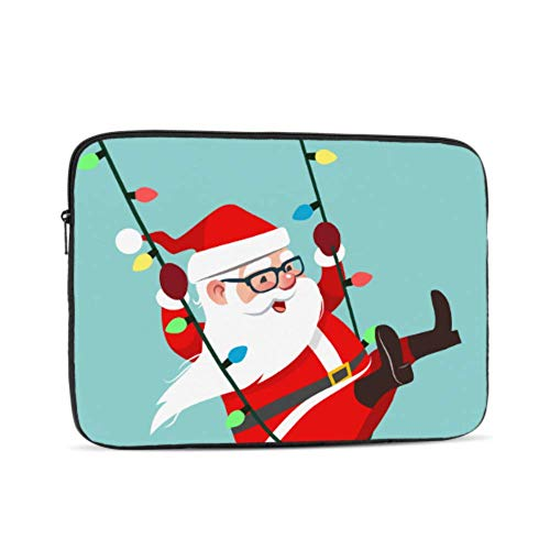 Laptop Sleeve Case 17 Inch Cartoon Character Santa Claus Laptop Sleeve/notebook Computer Pocket Case/tablet Briefcase Carrying Bag