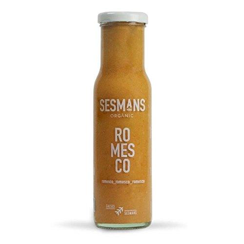 Sesmans, Salsa natural Romesco -  240 gr