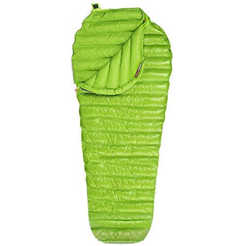 Newdoar Urltra-Light Gänsedaunenschlafsack Frühling Herbst Urltra-kompakter Schlafsack Mumienschlafsack