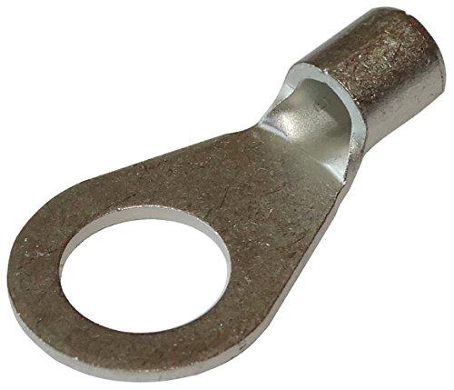 Aerzetix: 10 Kabelschuhe Elektroflachhülsen Auge Öse M8 2.5...6mm2