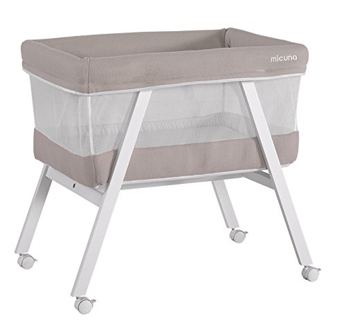 Micuna MO-1560 Mini Fresh - Minicuna, color blanco y beige