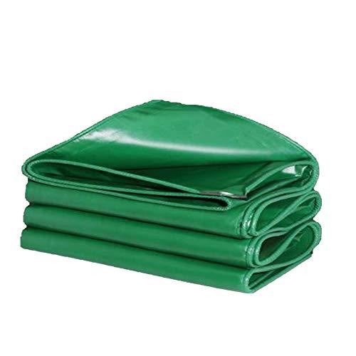 GHHZZQ Lona de Alta Resistencia for Vehículos Al Aire Libre Cubierta Protectora Impermeable Toldo de Tela A Prueba de Lluvia Toldo for Camión, 0.5 mm Espesor, Verde (Color : Green, Size : 2x3m)