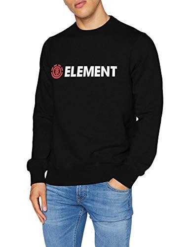 Element Blazin - Sudadera para Hombre Sudadera, Hombre, Flint Black, L