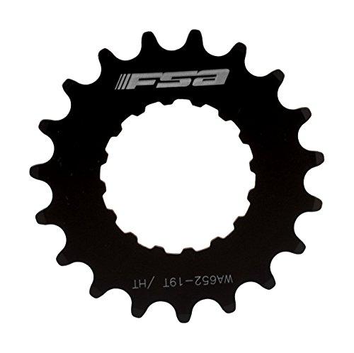 FSA - Piñón para Bicicleta eléctrica (Unisex), Color Negro, tamaño 15T