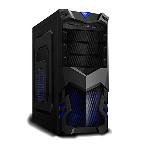 PC Gaming Computer Fisso Desktop Intel i5 3.2GHZ - GT 710 2GB - Windows 10 PRO - 8GB RAM - 240GB SSD - WiFi USB - HDMI e VGA - Wireless - Lettore Masterizzatore CD DVD - Ufficio Internet Scuola