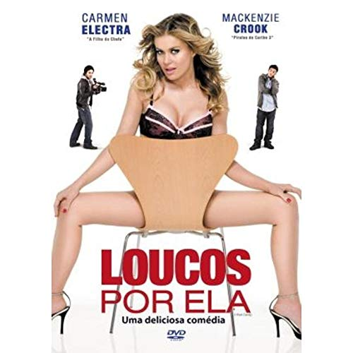 DVD Loucos Por Ela Uma Deliciosa Comédia - Carmen Electra