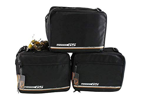 made4bikers Promotion: Bolsas interiores adecuado para de los modelos BMW R1200GS-LC R1200 GS LC K50 a partir de 2013 - conjunto completo