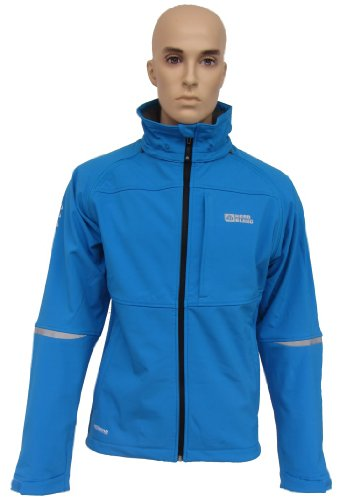 NordBlanc Herren 2in1 Softshell Jacke Stretch SCORP vintage blau S-3XL