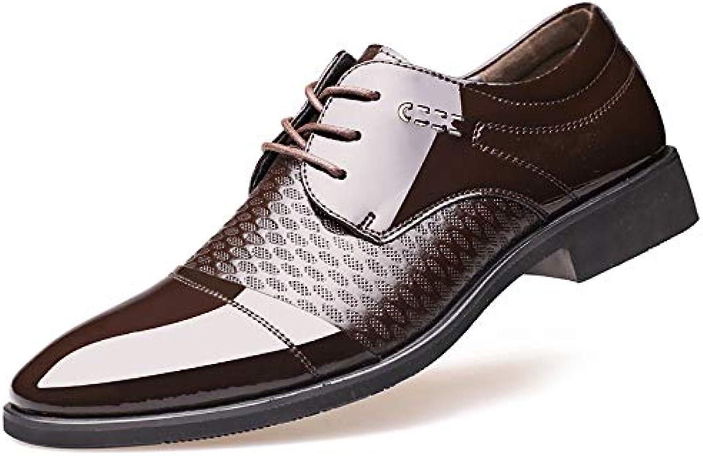LOVDRAM Men'S shoes Sand Shield Autumn Men'S Business Dress shoes Pointed Casual Breathable Men'S shoes Low shoes