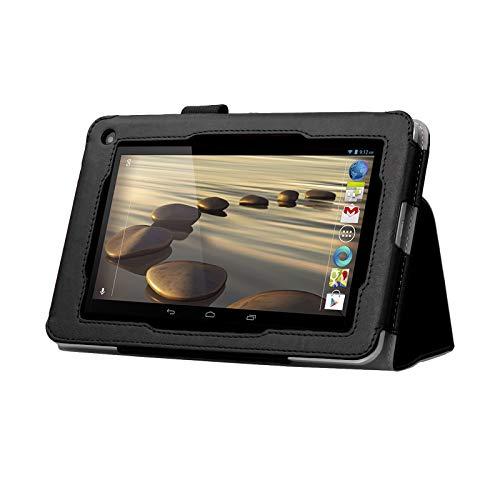 Black Double-Fold Folio Case for Acer Iconia B1-710
