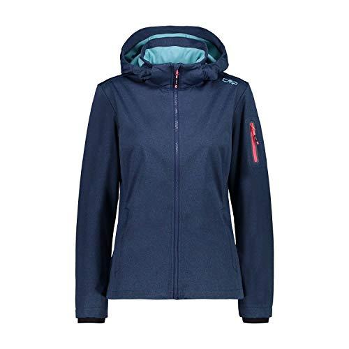 CMP Damen Softshelljacke 39A5016M Jacke, Blue Mel, D40
