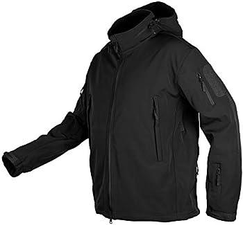 CHEXPEL Men's Water-Resistant Outdoor Tactical Jackets