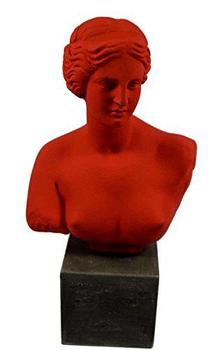 Scultura busto Venere Afrodite dea dell' amore statua Artefatto