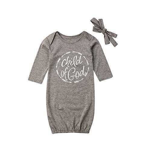 iBccly - Conjunto de Pijama Unisex de algodón para bebé
