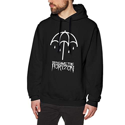 MYHL Men's Bring-Me-The-Horizon Graphic Fashion Sport Hip Hop Hoodie Sweatshirt Pullover Tops