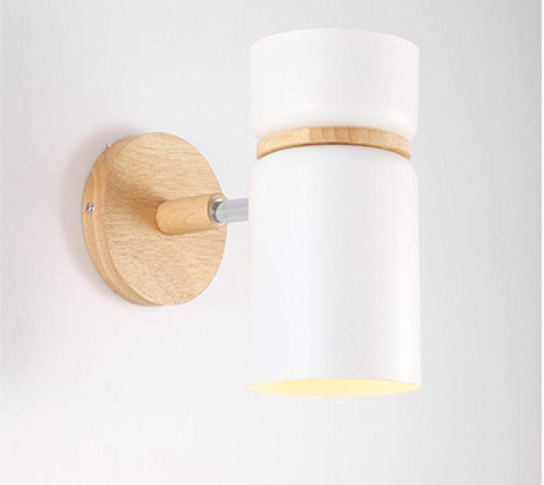 YAOUDWL Einfache Wandleuchte Persnlichkeit Kreative Led Mode Warm Kinderzimmer Moderne Wohnzimmer Schlafzimmer Weie E27 Lampenfassung