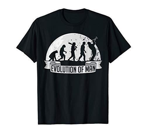 Evolution Trompete T-Shirt Trompetenspieler Geschenk Männer