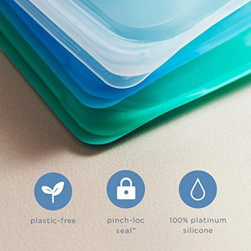 Stasher Dishwasher Safe Reusable Food Bags