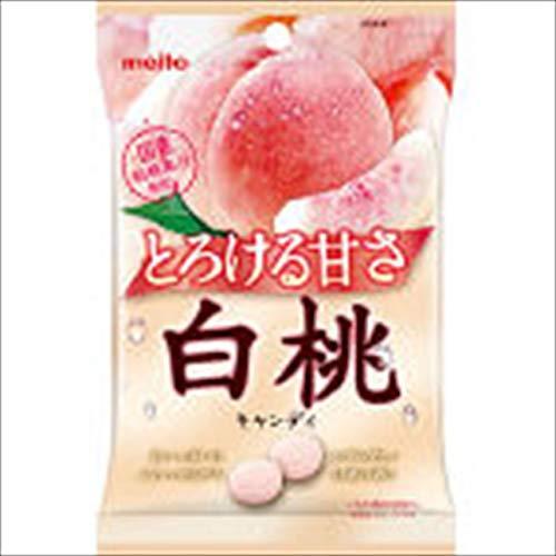 名糖産業 白桃キャンディ 75g×10袋