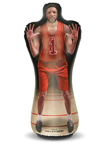GoSports Inflataman Basketball Defender Training Aid | Weighted Defensive Dummy for Shooting, Dribbling and Driving Drills