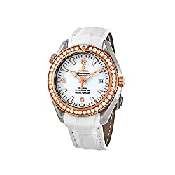 Seamaster Planet Ocean Steel and 18kt Rose Gold Watch