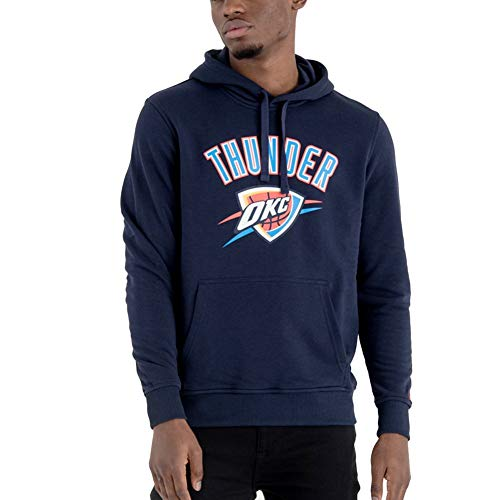 New Era Fleece Hoody - NBA Oklahoma City Thunder Navy
