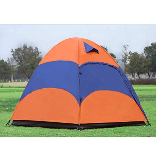 HIGHKAS Outdoors Coast View Easy Setup Beach Tent Double Coating Extra Large Sun Shelter Zippered Porch Included
