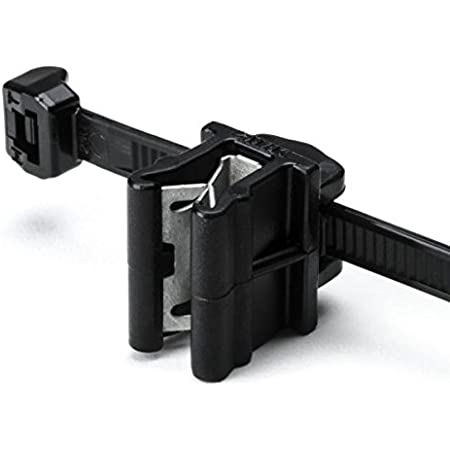 HellermannTyton Moveable Cable Bundling Clip Fixing and Fir Tree 54x6.0mm Black