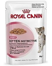 Royal Canin Woreczki na świeże Kitten Instinctive in Sosse Multipack 12 x 85 g, mokra karma dla kotów