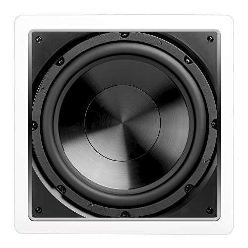 "OSD Audio 200W in-Wall Subwoofer Speaker– 10"" Passive Sound System – IWS10"