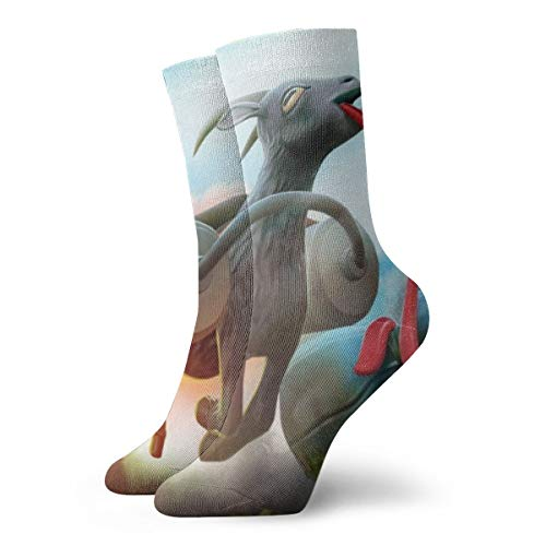 Ziegen-Simulator Socken Unisex Erwachsene Casual Crew Socken Tube Kurze Socken Crew Socken