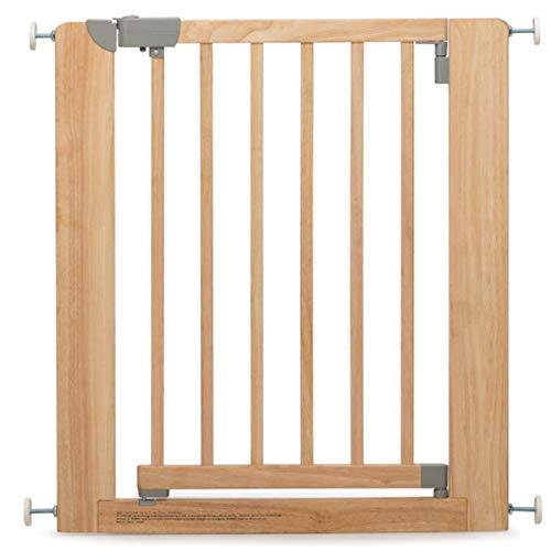 Geuther 2712 NA 2712 Barrière de protection de porte en bois sans perçage à pincer Plage de réglage 73,5 à 81 cm Extensible Marron 4,6 kg