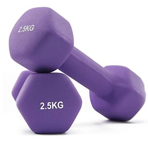 Hanteln Premium-Qualität Hanteln für Frauen und Männer Heimfitnessgeräte Hex Hantelgewichte (Paar) Kleine Hantel Perfekte Handgewichte für Kraftaufbau Muskelaufbau Heim-Fitnessstudio und Reh