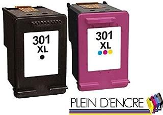 2 cartuchos de tinta n.º 301 XL/gran capacidad/negro y color ...