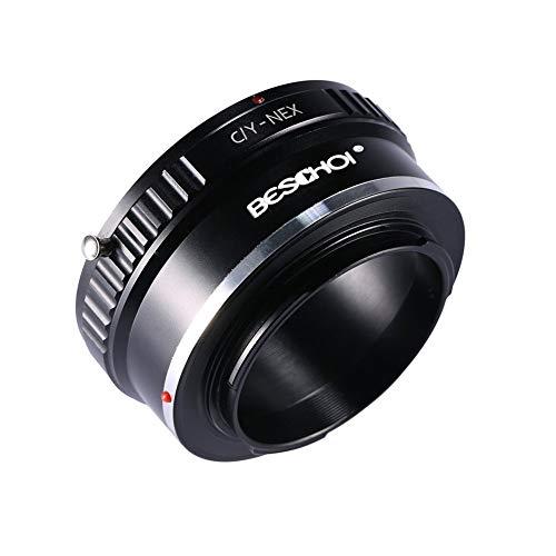 Beschoi C/Y-NEX Objektiv Adapter für Contax/Yashica Objektiv auf Sony Alpha NEX E-Mount Kamera Sony Alpha NEX-7 NEX-6 NEX-5N NEX-5 NEX-C3 NEX-3