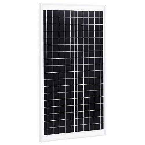 N/O Viel Spaß beim Einkaufen mit Solarmodul 30 W Polykristallin Aluminium und Sicherheitsglas
