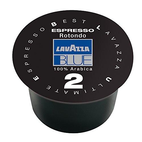 Lavazza BLUE Capsules, Espresso Ricco Coffee Blend, Dark Roast, 28.2-Ounce Boxes (Pack of 100)