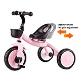 Children's Tricycle 1-5 Years Old Children's Toy Car Outdoor Light Boy and Girl
