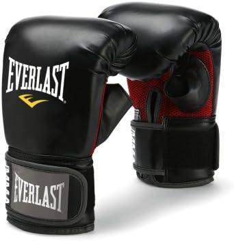 Guantes de artes marciales Everlast, negro, L/XL