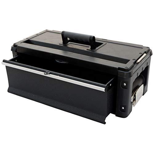 AS-S Erweiterungsbox Werkzeugkiste mit 1 Lade für unsere schwarzen Trolleys