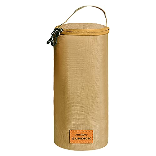 Lixada Estuche Protector de Tanque de Gas Protector de Cilindro de Combustible Bolsa de Almacenamiento de Linterna de Camping Portátil Cubierta de Almacenamiento de Gas de Camping Al Aire Libre