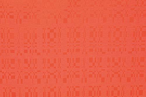 Linder tafelkleed, rechthoekig, 100% polyester, oranje, 165 x 200 cm