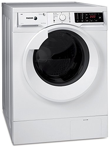 Fagor 1FSE-8214 Waschtrockner/ 60 cm Höhe /Energieeffizienzklasse: A/Programmierung und interaktive LCD-Display