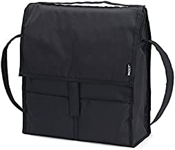 PackIt Freezable Picnic Bag with Zip Closure, Black