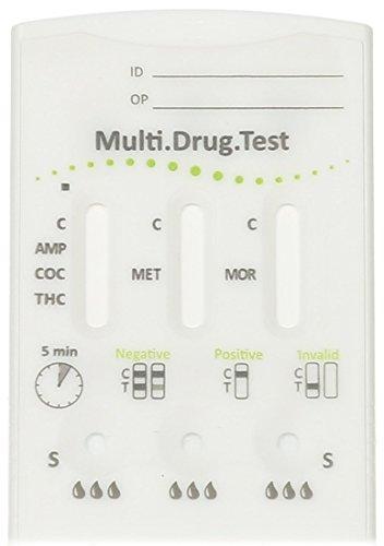 Drogentest Schnelltest Multi 5TD (Bearbeitungszeit 1 Werktag) Haltbar bis 2022-01