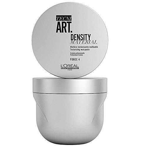 L Oreal Professionnel - Cire pour Cheveux - Tenue Souple Finition Mat - Donnez Corps à vos Cheveux (Décoifé, Ebouriffé) - Play Ball Density Material - Texturising Wax-paste Pot - 100ml