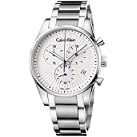 Calvin Klein Steadfast Stainless Steel Swiss Quartz Men's Watch (K8S27146)