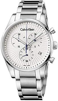 Calvin Klein Steadfast Stainless Steel Swiss Quartz Men's Watch